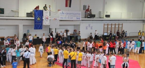 "Održan 18. taekwondo turnir ""Senjski vitezovi"""