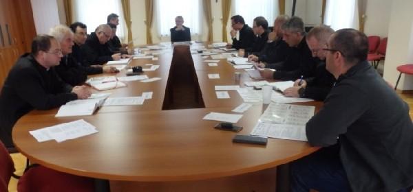 Održana sjednica Prezbiterskog vijeća Gospićko-senjske biskupije