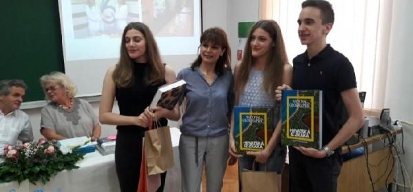 Gradonačelnik Rukavina dodijelio nagrade najuspješnijim učenicima Srednje škole