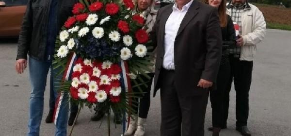 U prigodi obilježavanja Dana hrvatske neovisnosti u Brinju