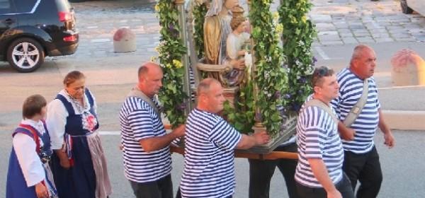 Biskup Križić predvodio slavlje Gospe Ribarske