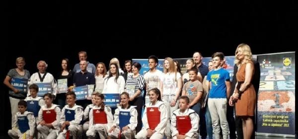 "Taekwondo klub ""Gacka"" dobitnik donacije od LIDL-a"