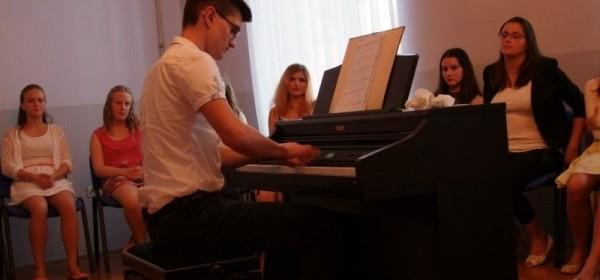 Koncert polaznika glazbene škole - odjel glasovir