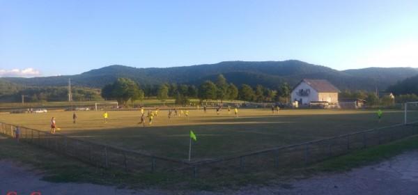 Prijateljska nogometna utakmica NK Sokolac - NK Oštarije
