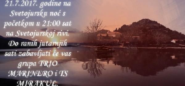 """Svetojuračka noć"" Sveti Juraj"