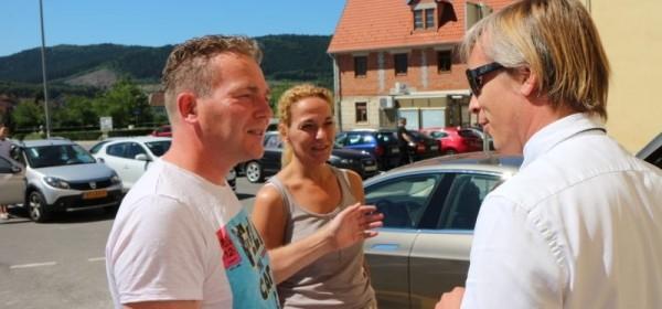 Švicarac i Nizozemac zadovoljni e-punionicom u Otočcu