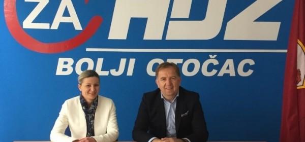 GO HDZ Otočac za zamjenicu župana LSŽ kandidirao Renatu Hodak