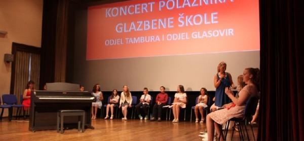 Veličanstveni završni koncert učenika Osnovne glazbene škole
