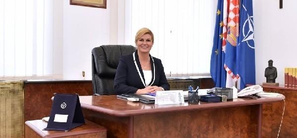 Predsjednica sa šefovima diplomatskih misija i međunarodnih organizacija