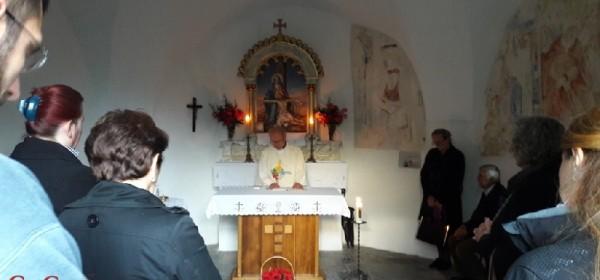 Misa u kapeli Majke Božje od Sedam Žalosti na Fortici