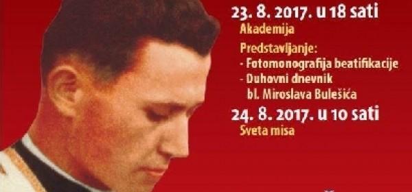 Obilježavanje 70. obljetnice smrti bl. Miroslava Bulešića
