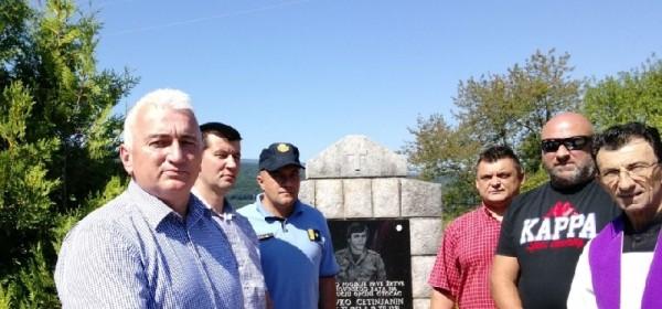 Obilježena 26. godišnjica pogibije Slavka Cetinjanina