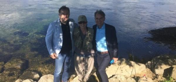 Ministar turizma Capelli u Otočcu došao podržati kandidata za gradonačelnika Šutića