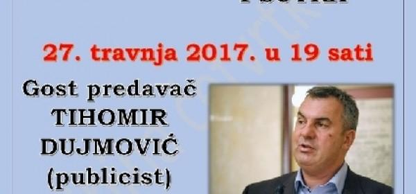 Tribina o hrvatskom novinarstvu