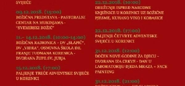 Advent u općini Plitvička Jezera