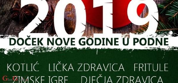 Podnevni ispraćaj Stare godine i doček Nove u Perušiću
