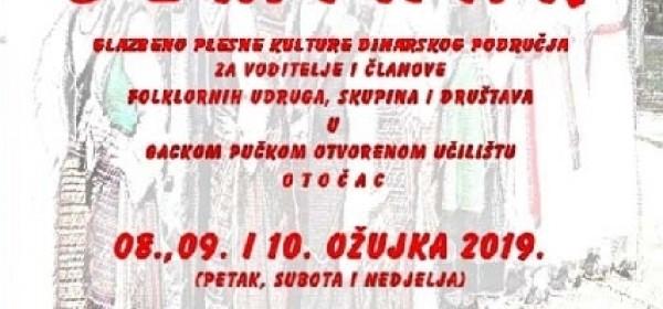 Prednajava - Seminar o dinarskim pjesmama i plesovima u Otočcu