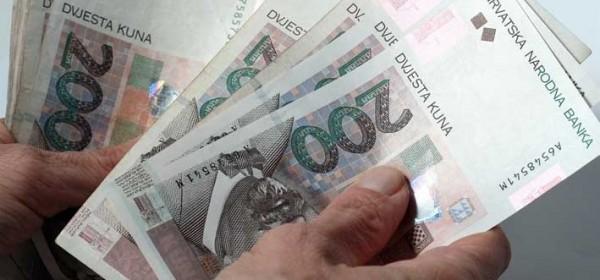 Plaće po županijama