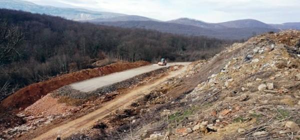 Saniranje smetlišta Javorov vrh
