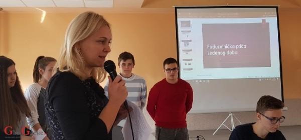 Učenici ekonomisti o projektu Poduzetništvom kroz život