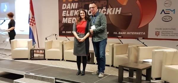 Sanji Krmec Tonković zlatni mikrofon