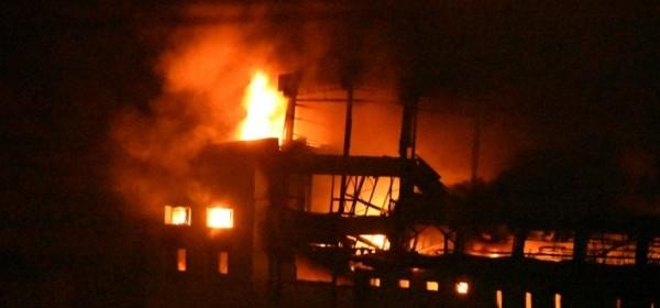 Jutarnji list - Buktinja progutala tvornicu u Otočcu