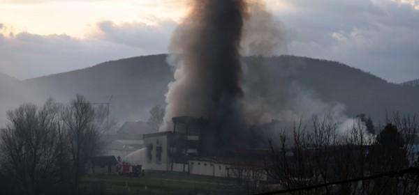 Požar uzrokovao kvar na glavnomu razvodnom ormaru struje