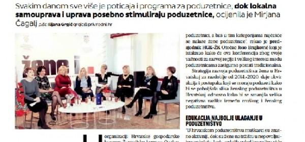Privredni vjesnik o 2. međunarodnoj konferenciji o ženama u poduzetništvu