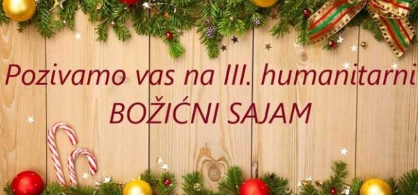Treći humanitarni Božićni sajam u Perušiću