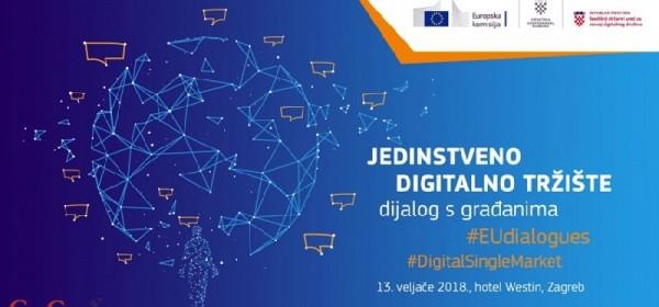 Jedinstveno digitalno tržište - konferencija 13. veljače