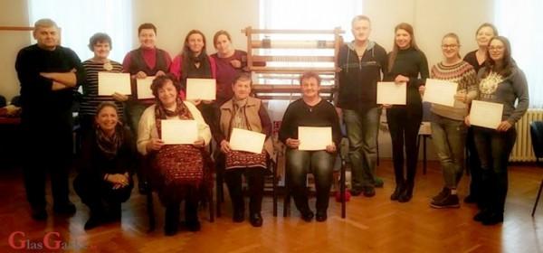 Uspješno završen seminar o tradicijskima tekstilnim vještinama Gacke