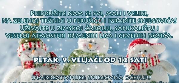 Danas u Perušiću Snješkofest