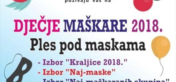 Dječje maškare 2018.