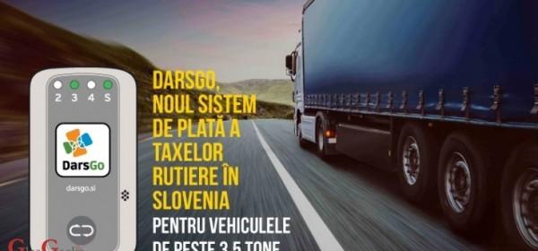 Elektonska naplata cestarine u Sloveniji od 1. travnja