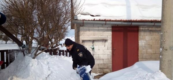 Policija u proboju do Mekinjara