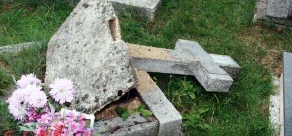 Vandalizam na groblju