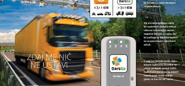 Teška vozila (preko 3,5 t) u Sloveniji teško bez DarsGo