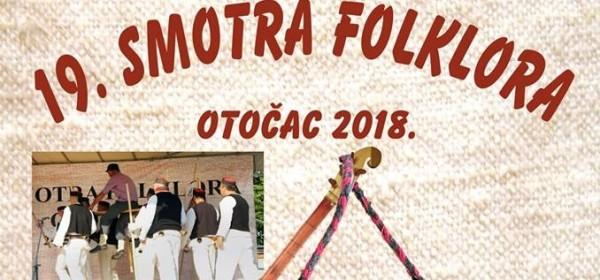 Prednajava za 18. smotru folklora u Otočcu