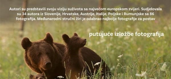 Život s medvjedima - izložba u Kući Velebita
