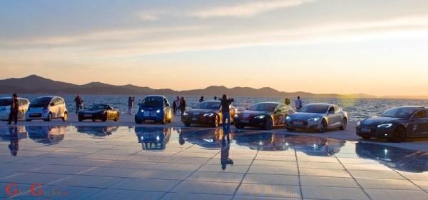 Nikola Tesla EV Rally Croatia 2018 - na Plitvicama 9. lipnja