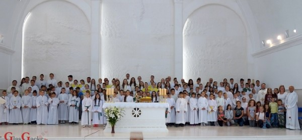 Biskupijski susret ministranata na Udbini