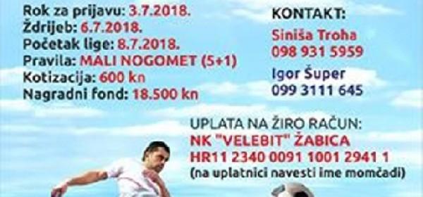 Ljetni malonogometni turnir Gospić 2018.