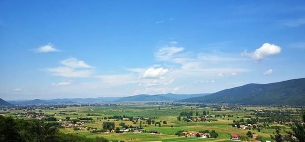 Oh, kako je zelena moja dolina - usred ljeta