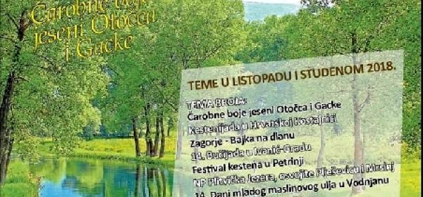 Vikend van Zagreba - Čarobne boje jeseni Otočca i Gacke