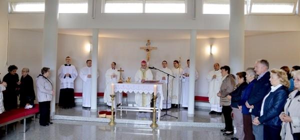 Misa u kapeli Svih svetih i blagoslov groblja