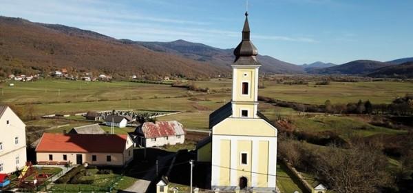 Blagoslov crkve sv. Jurja u Jezeranama
