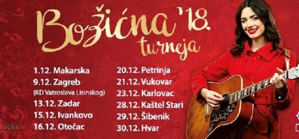 Mia Dimšić na Božićnoj čaroliji u Gackoj