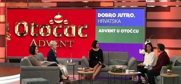 Dobro jutro, Hrvatska - o Božićnoj čaroliji u Gackoj i o konferenciji ženskog poduzetništva