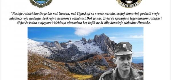 25. obljetnica pogibije strožernog brigadira Damira Tomljanovića-Gavrana