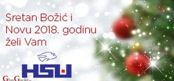 HSU Otočac čestita Božić !